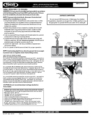 120-277v Install DL HID