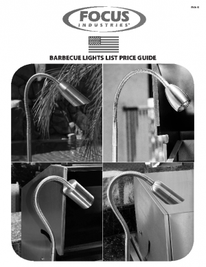 BBQ-Lights List Price Guide